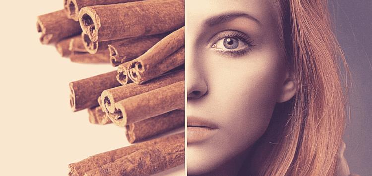beneficios de la canela para la piel