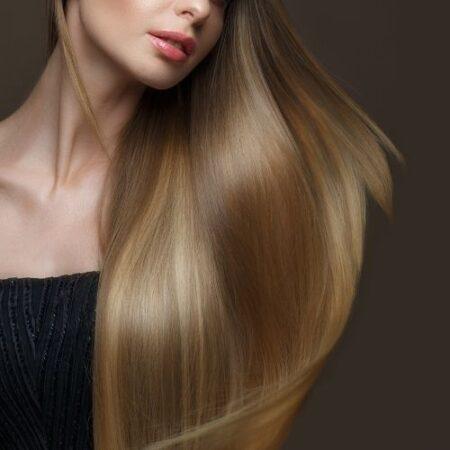 cabello seco y sin brillo