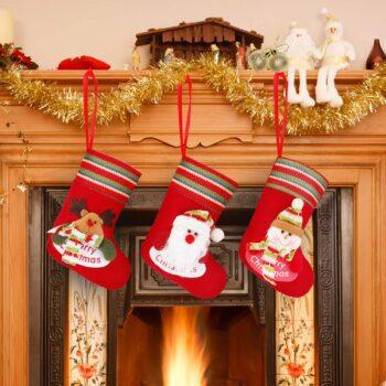 calcetines chimenea