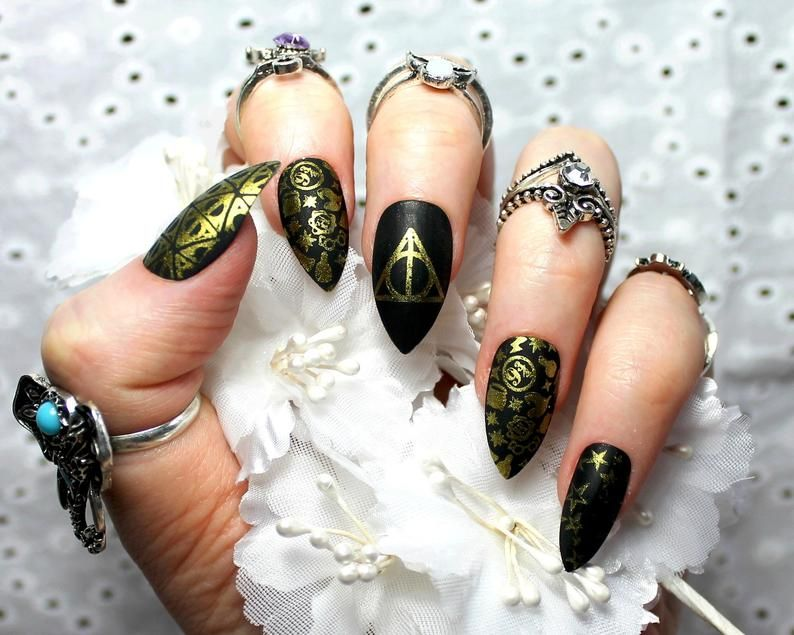 manicura harry potter