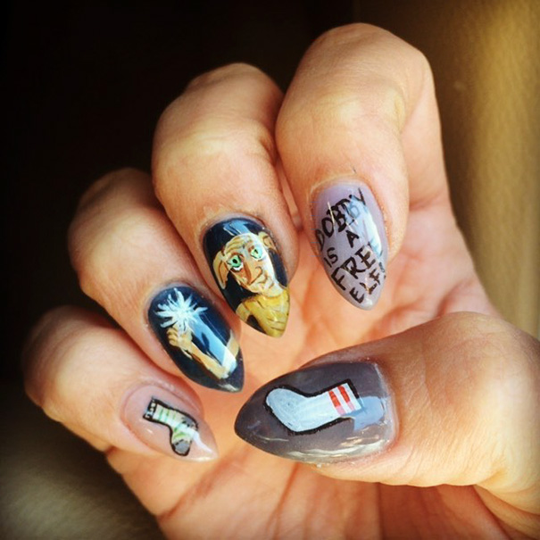 uñas de harry potter